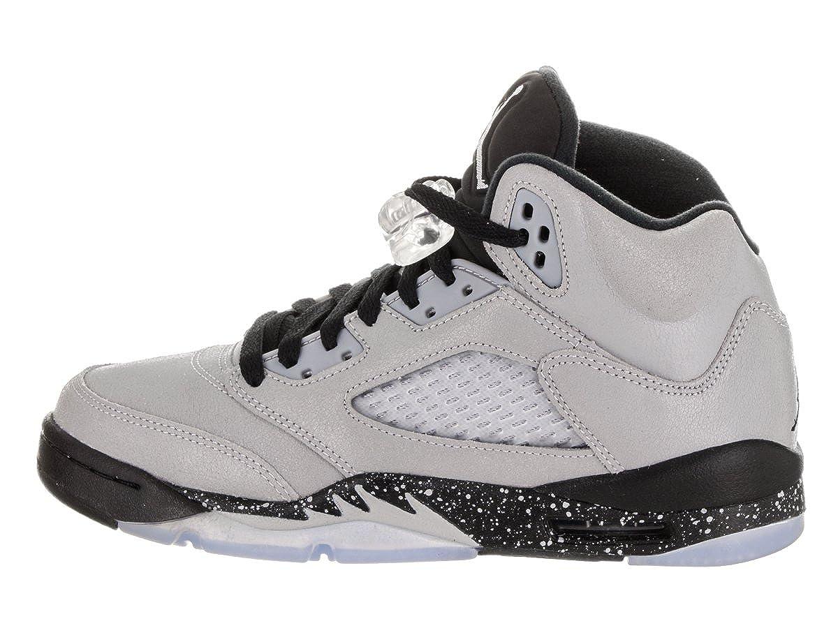 site réputé c7ede 44265 NIKE Air Jordan 5 Retro GG, Espadrilles de Basket-Ball Fille