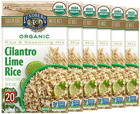 Rice: Lundberg Cilantro Lime Rice