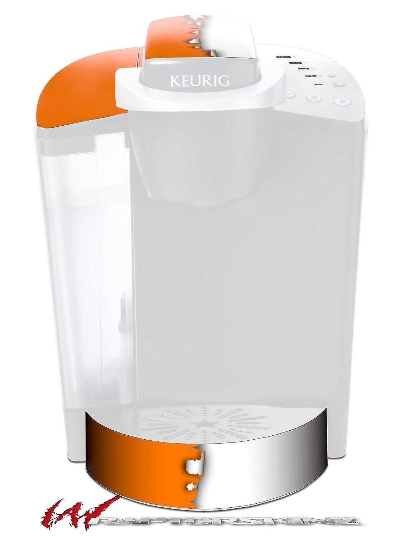 取り込んだ色オレンジホワイト – デカールスタイルビニールスキンFits Keurig k40 Eliteコーヒーメーカー( Keurig Not Included )   B017AK2HCG
