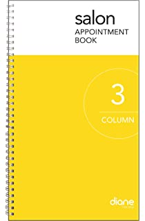 amazon com 3 column undated appointment book three person daily