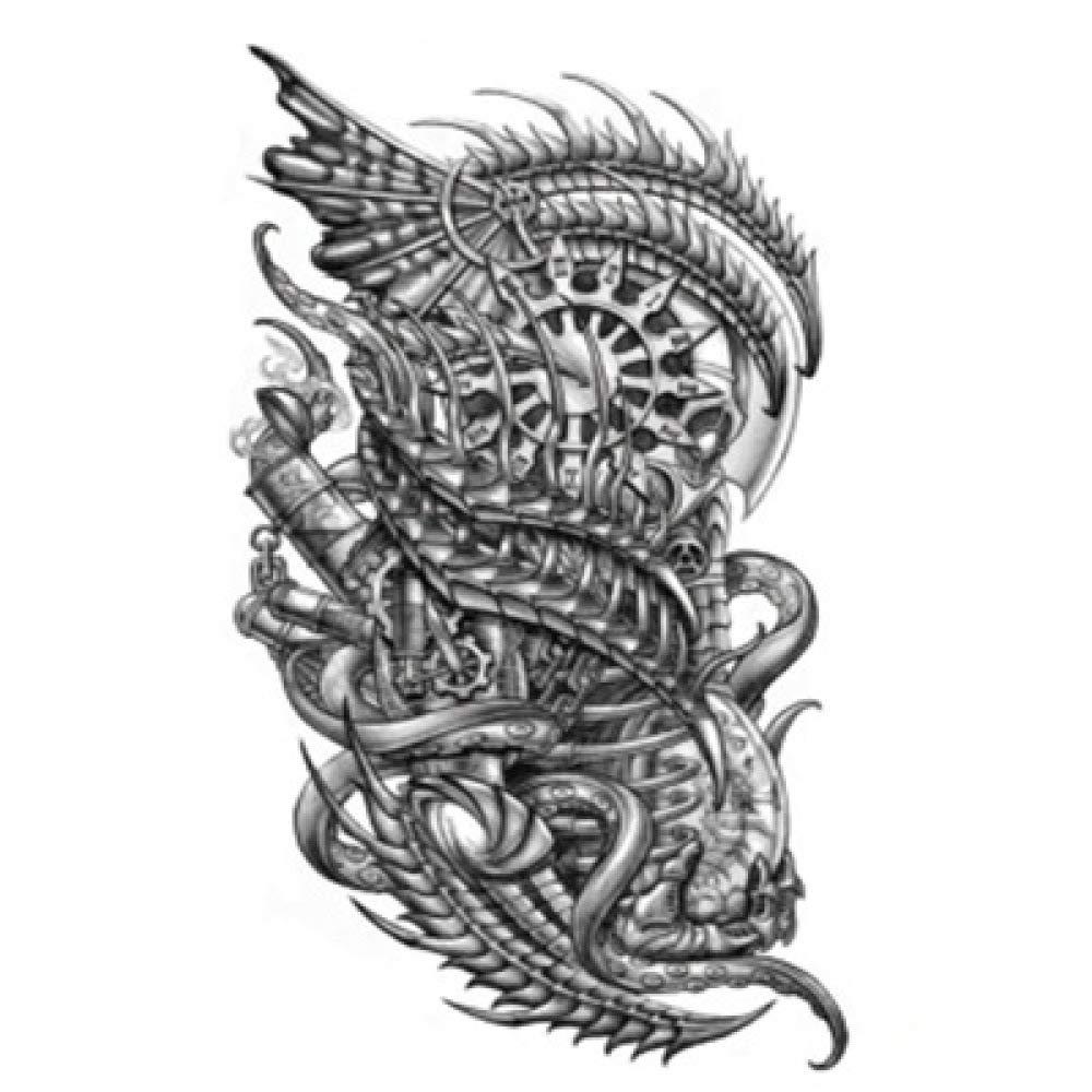Flor de la moda del brazo pegatinas para el tatuaje pegatinas ...