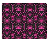Luxlady Mousepad Seamless background with retro pattern floral ornament IMAGE 39348742