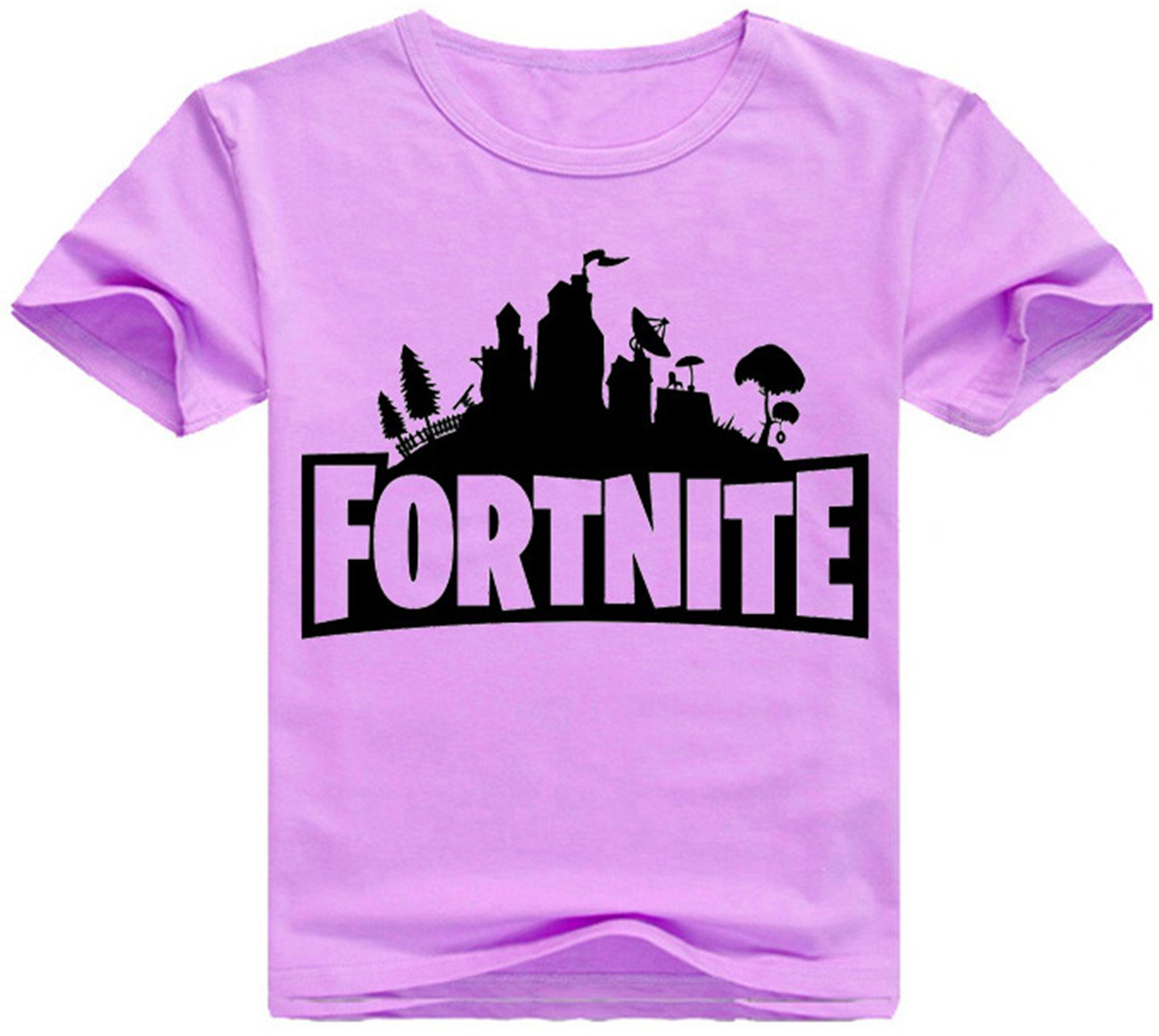SERAPHY Unisex Fortnite Camiseta Niño Game Fortnite Battle Royale Figuras