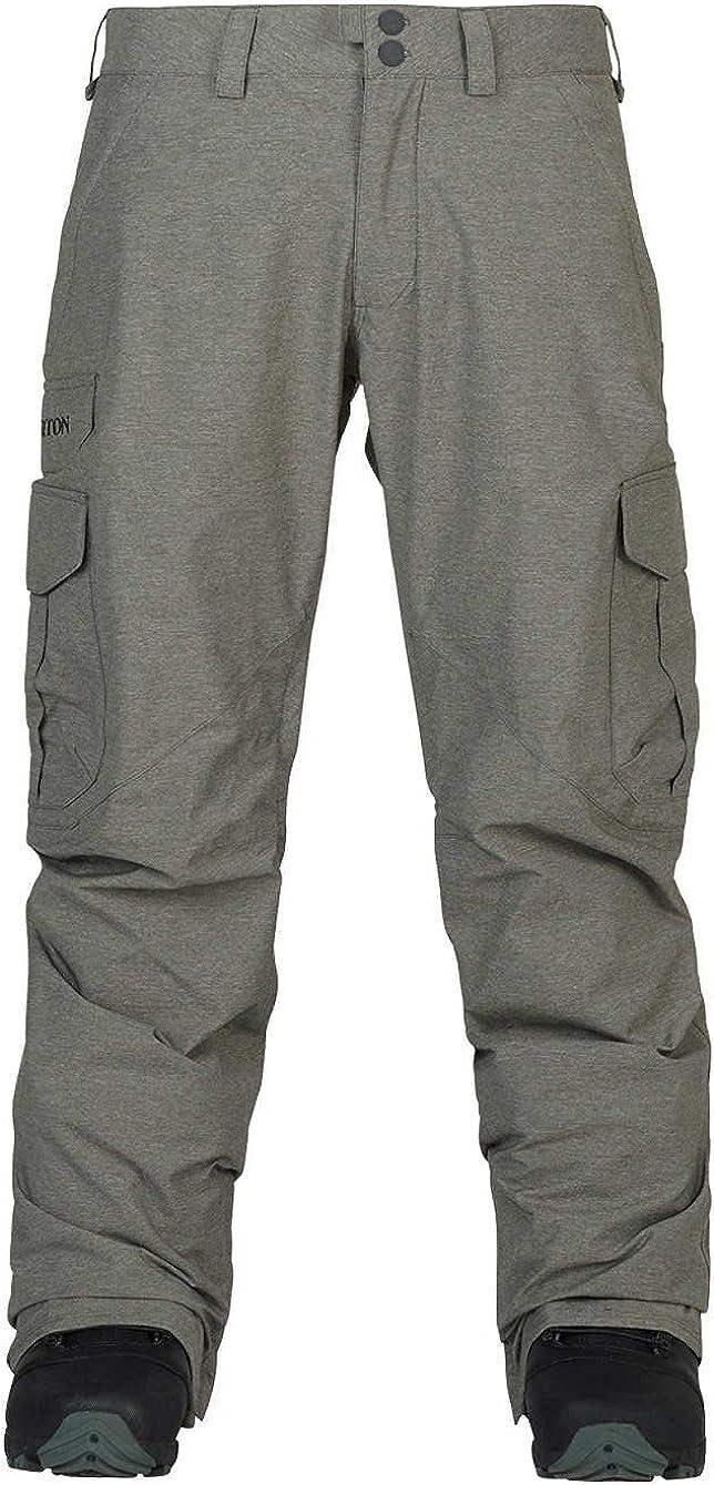 2018 Burton Cargo Snowboard Pants Mid Fit Size XL Shade Heather