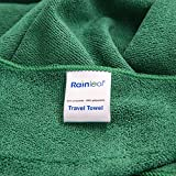 #4: Rainleaf Microfiber Travel Towel,Fast Drying Super Absorbent Ultra Compact,Suitable for Travel,Camping,Gym,Swimming,Backpacking