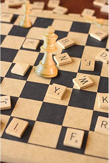 1000 Scrabble Tiles - NEW Scrabble Letters - Wood Pieces - 10 Complete Sets - Great for Crafts, Pendants, Spelling by Fuhaieec: Amazon.es: Juguetes y juegos