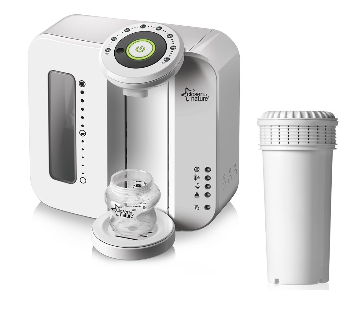 Tommee Tippee Closer To Nature Perfect Prep Machine with Extra Replacement Filter