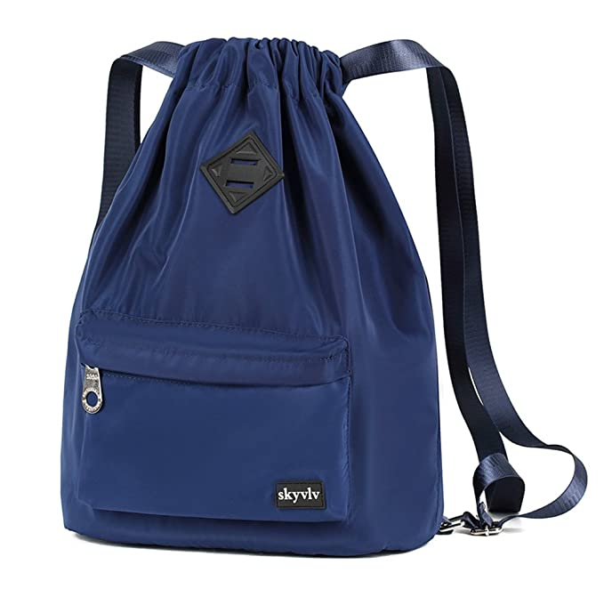 a36129b99178 Travel Sports Yoga Gym Drawstring Bag Backpack Training Gymsack Sackpack  Backpack With Pockets Zippered for Men