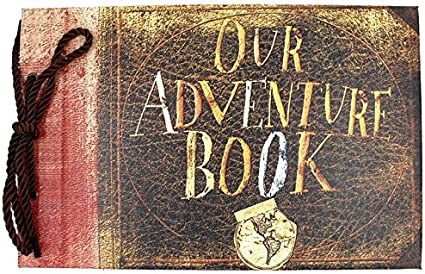 Anniversary Photo Album Scrapbook - Our Adventure Book