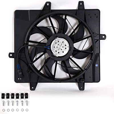 620-022 Radiator Cooling Fan CH3115118 Fit For 2001 2002 2003 2004 2005 Chrysler PT Cruiser 5017407AB: Automotive
