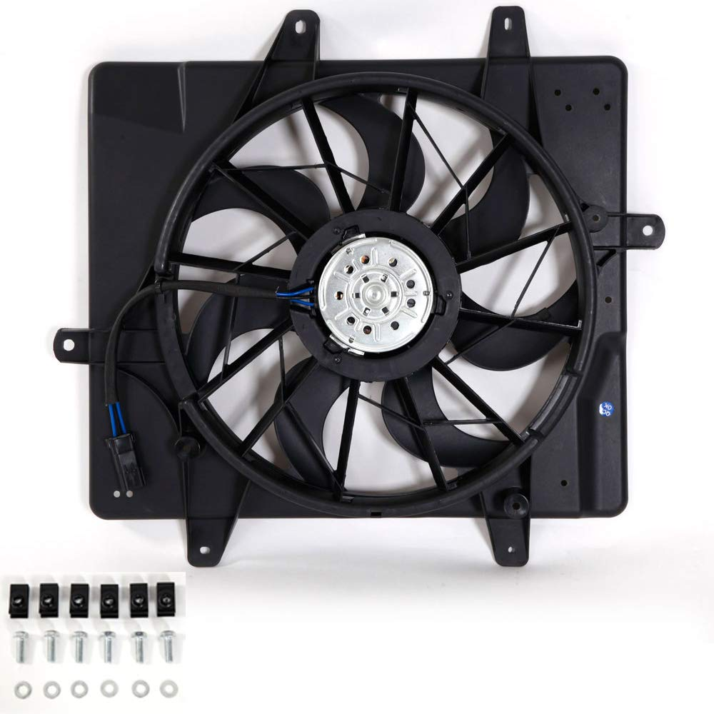620-022 Radiator Cooling Fan CH3115118 For 2001 2002 2003 2004 2005 Chrysler PT Cruiser 5017407AB