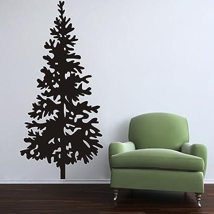 christmas tree wall decal vinyl christmas tree decor merry christmas stickers christmas tree with ornaments home