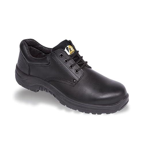 V-Tech vr608 Tiger Hombre Acero Entresuela Botas De Seguridad en Negro: Amazon.es: Zapatos y complementos
