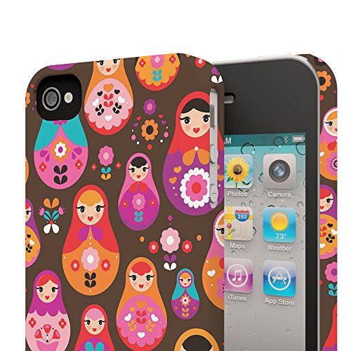Koveru Back Cover Case for Apple iPhone 4/4S - Russian Doll