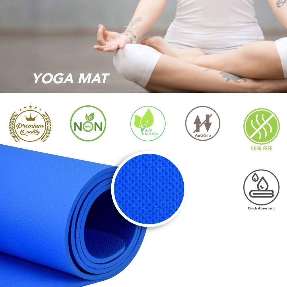 Best yoga Mat for Gym, Home and Outdoor (MADE IN INDIA), best made in India yoga mat
