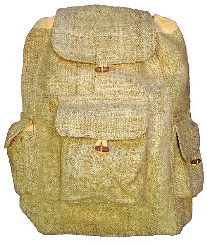 Large-Hemp-Backpack