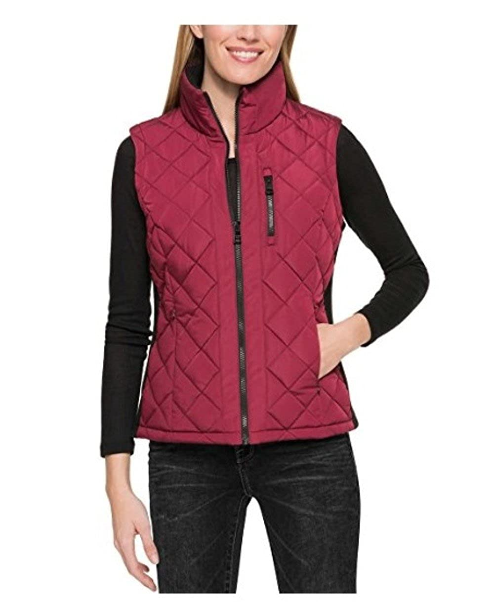 Andrew Marc Ladies' Quilted Vest X-Small)