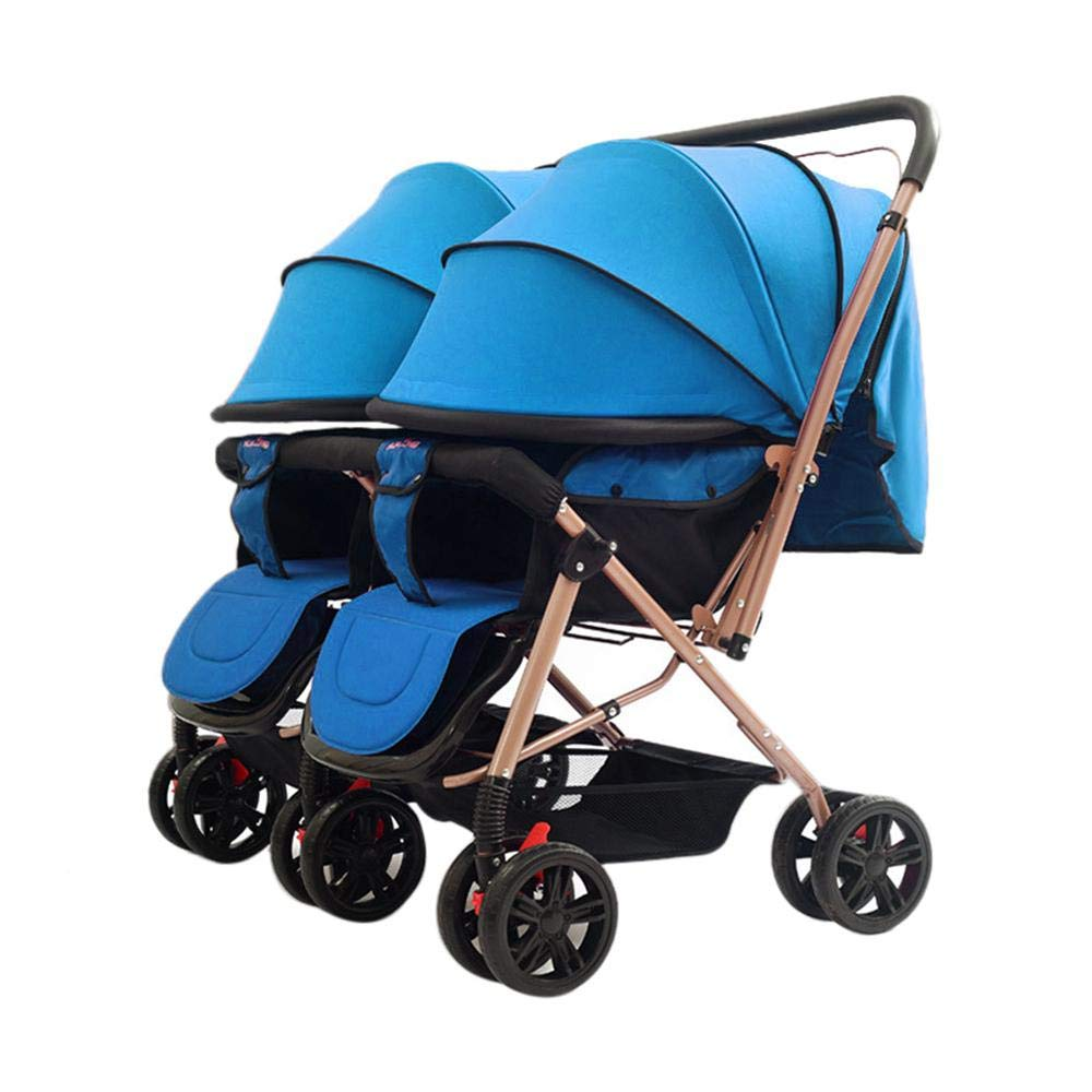 Twins and Twin Strollers- Tandem Double Pushchair