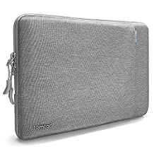 """tomtoc 360° Protective Laptop Sleeve Compatible with 15"""" MacBook Pro Retina 2012-2015   Dell XPS 15, 15 Inch Ultrabook Notebook Tablet Case Cover with Front Accessory Pocket"""
