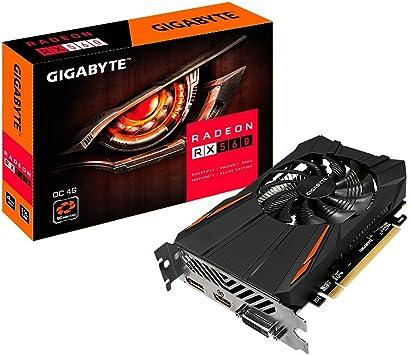 Amazon.com: Gigabyte gv-rx560oc-4gd Rev2.0 Radeon RX 560 OC ...