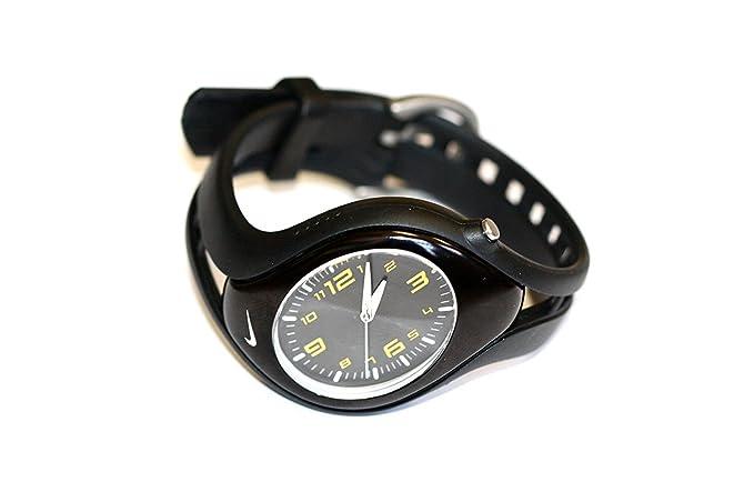Mujer Nike Triax Negro Amarillo analógica Blaze Reloj Deportivo: Amazon.es: Relojes