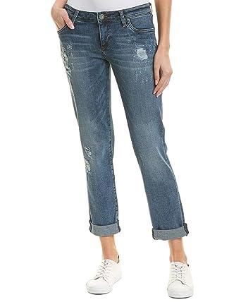 KUT from the Kloth Womens Catherine Boyfriend Jeans in Hearten