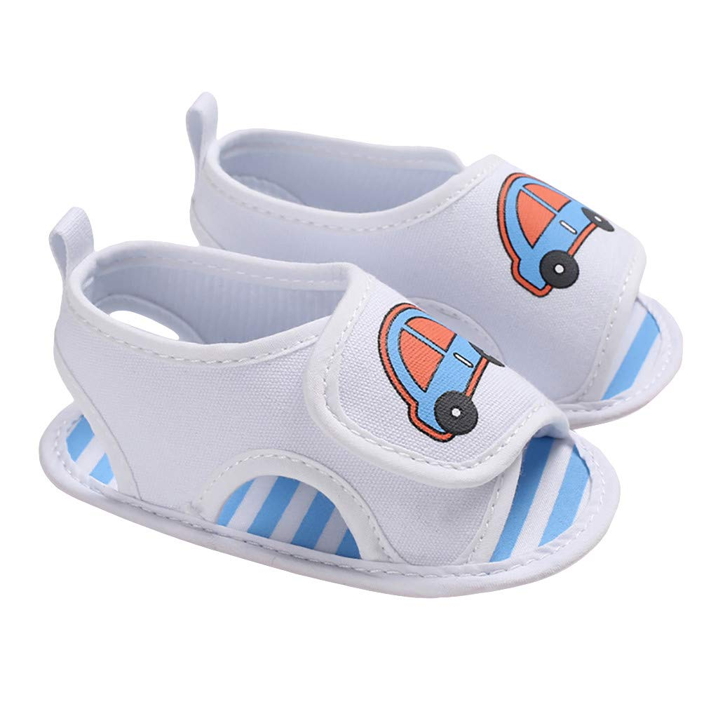 Voberry Baby Boys Girls Soft Bottom Sandals Shoes Plush Non-Slip Baby Shoes