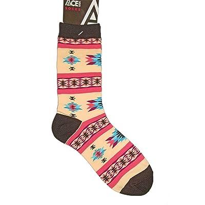 Ace USA Sunset Blanket Native American Design Art Women's Socks Size 8-11
