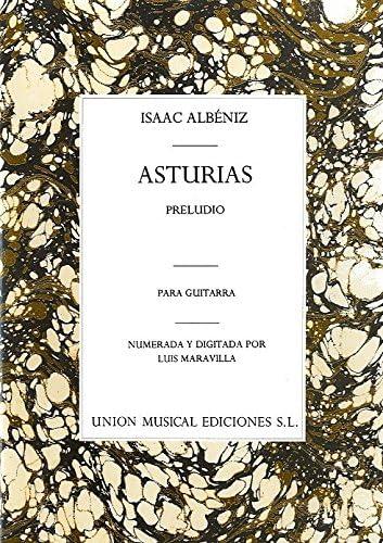 Albeniz Asturias Preludio (maravilla) guitarra: Isaac Albeniz ...