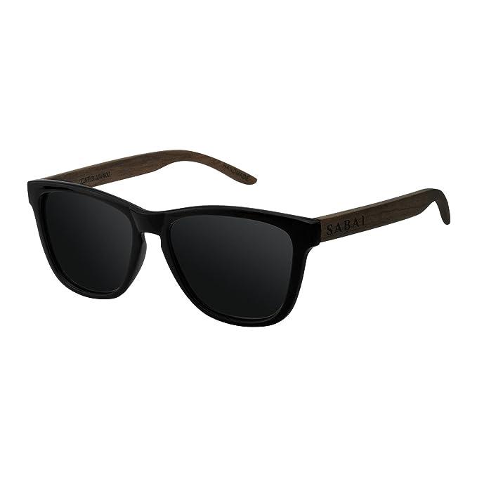 SABAI Wave- Gafas de Sol Polarizadas Marco Mate Lente Negra