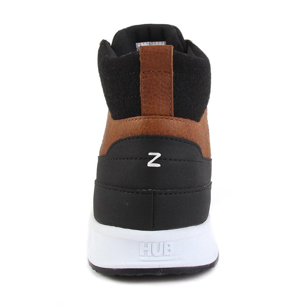 HUB Zone-M Braun High L30 Cognac White Braun Zone-M 551a85