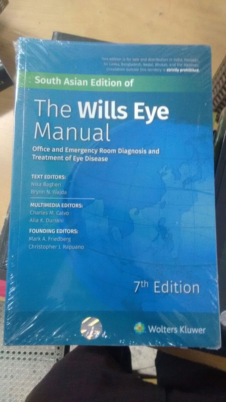 Buy The Wills Eye Manual Book Online at Low Prices in India | The ...