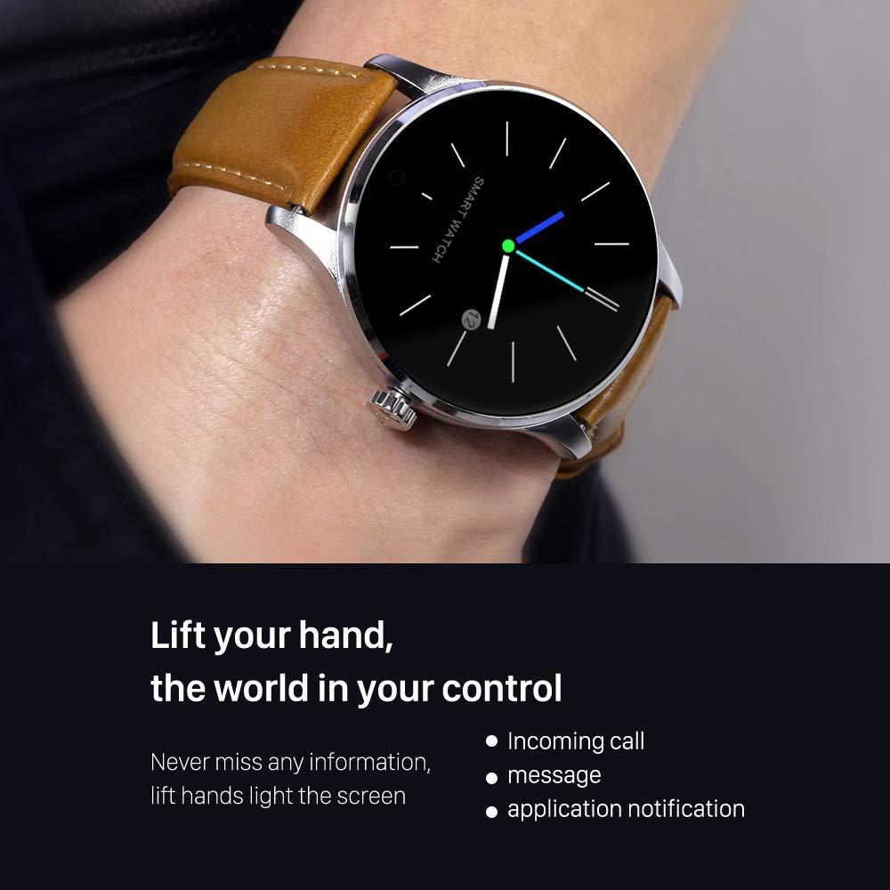 Smart Watch SMA 09 Fitness Tracker Pulsómetro para iPhone y ...