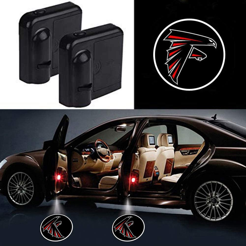 Rugby Team Logo Car Door Led Welcome Laser Projector Car Door Courtesy Light Suitable Fit for all brands of cars auto Parts NFL Philadelphia Eagles