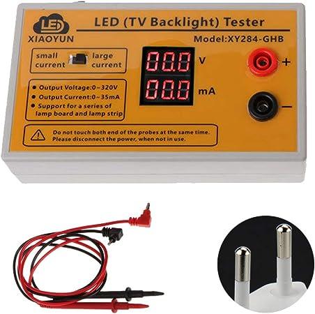 Lionina - Comprobador de Luces LED, 0 – 320 V de Salida, probador de Luces LED en casa, Herramienta de reparación, comprobador de Luces traseras para TV, EU, Tamaño Libre: Amazon.es: Hogar