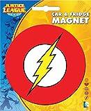 Ata-Boy DC Comics Die-Cut Flash Logo Magnet for Cars, Refrigerators and Lockers