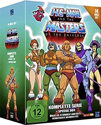 He-Man and the Masters of the Universe - Komplette Serie 14 ...