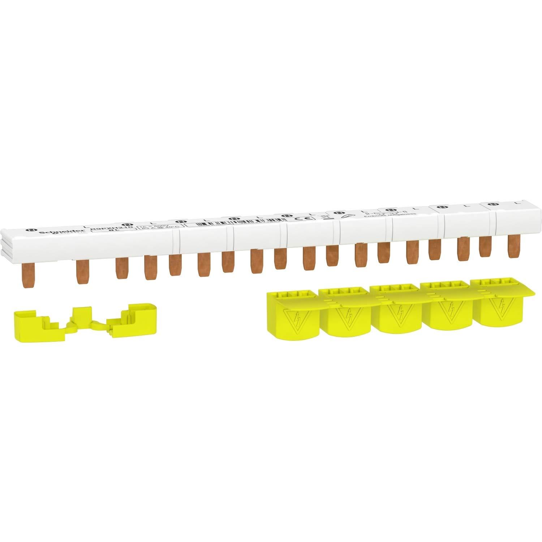 Resi9 XP 63A Pettine monoblocco 1P+N 10 moduli cache denti 5M