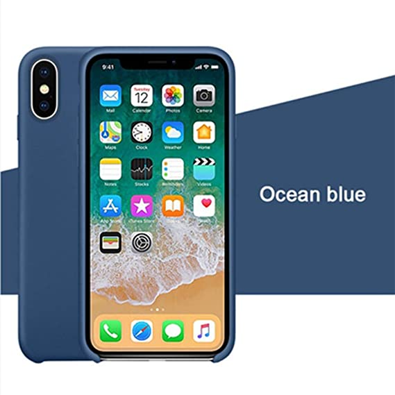 iphone xs plus case silicone