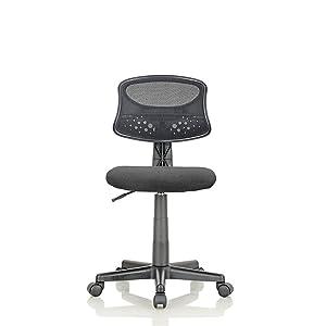 Featherlite Student Revolving Desk Chair (Black)