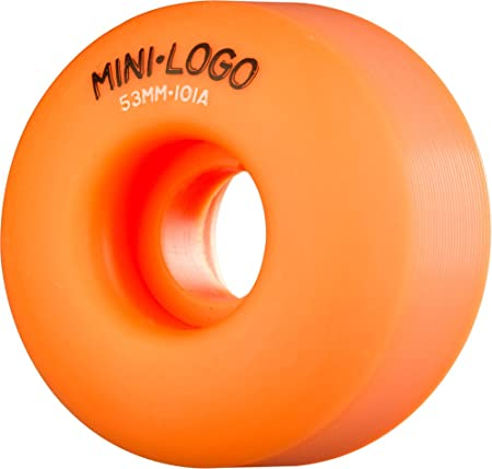 Mini-Logo Skateboards C-Cut 53mm 101A Skateboard Wheel, Orange
