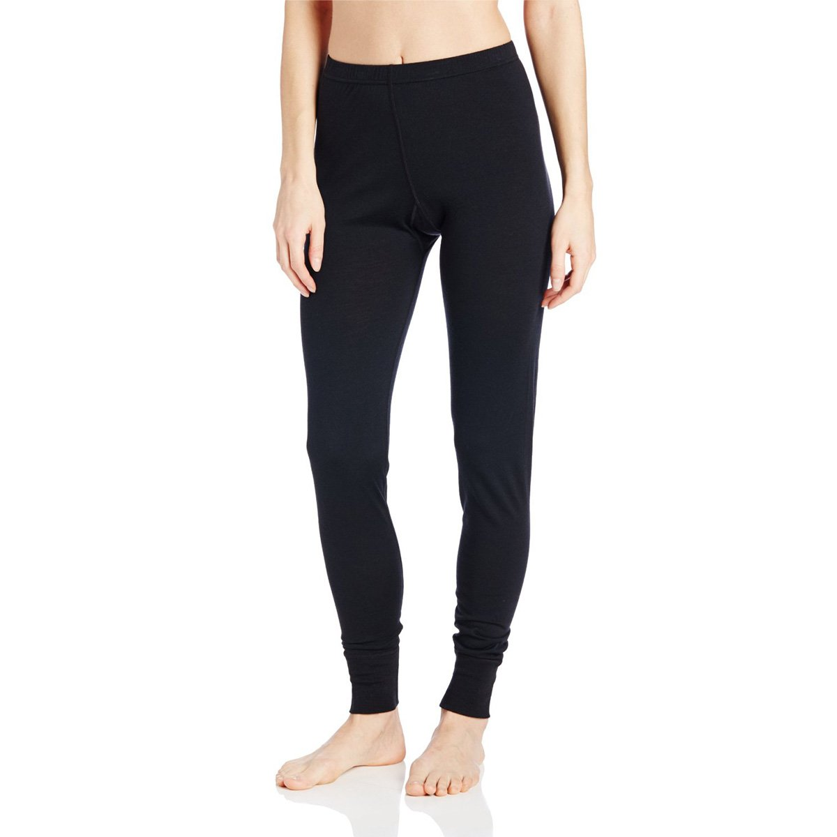 Minus33 Merino Wool Women's Magalloway Lightweight Bottom, Black, Large