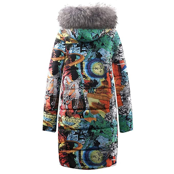 Luckycat Womens Winter Long Down Cotton Ladies Parka con Capucha Abrigo Acolchado Chaqueta Outwear: Amazon.es: Ropa y accesorios
