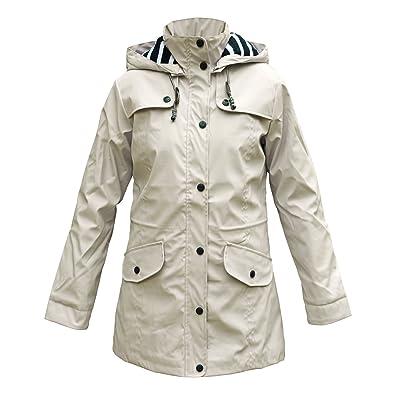 Abrigo de mujer para la lluvia con forro interior, de Batela: Deportes y aire libre