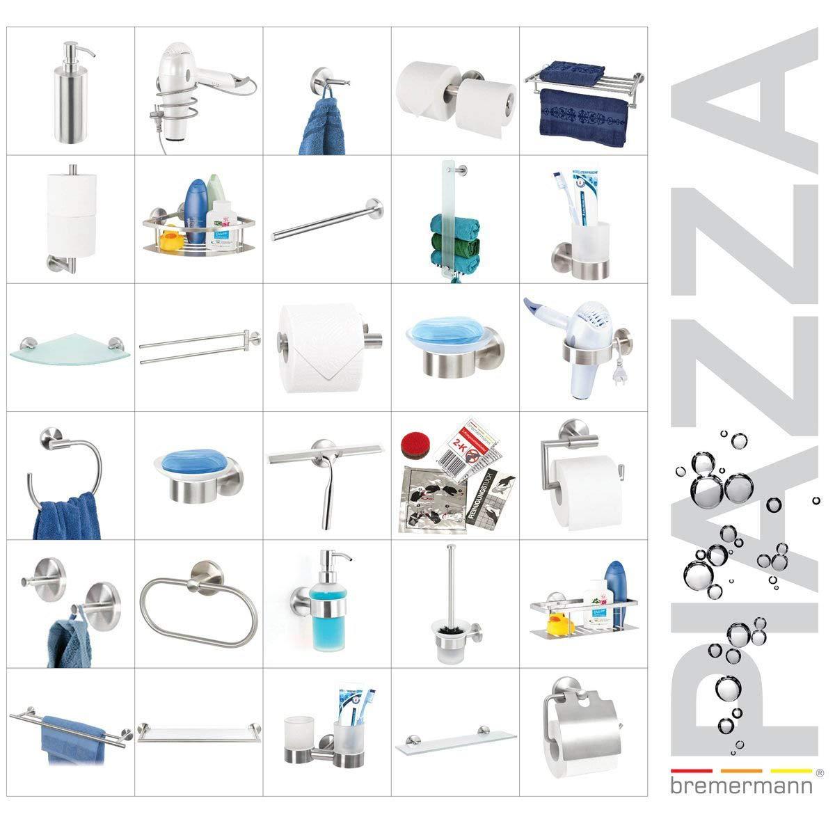 wei/ß bremermann Toilettenpapierhalter mit Ablage