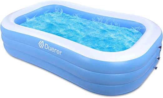 Duerer Piscina Hinchable Rectangular Piscina Infantil Inflable ...