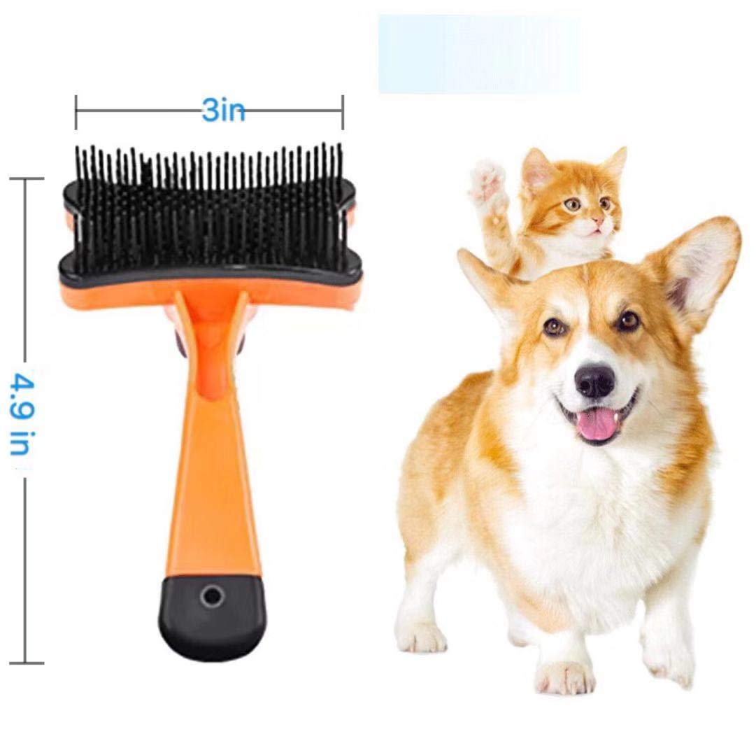 Efficient Pet Hair Remover Pet Grooming Brush for Dog /& Cat