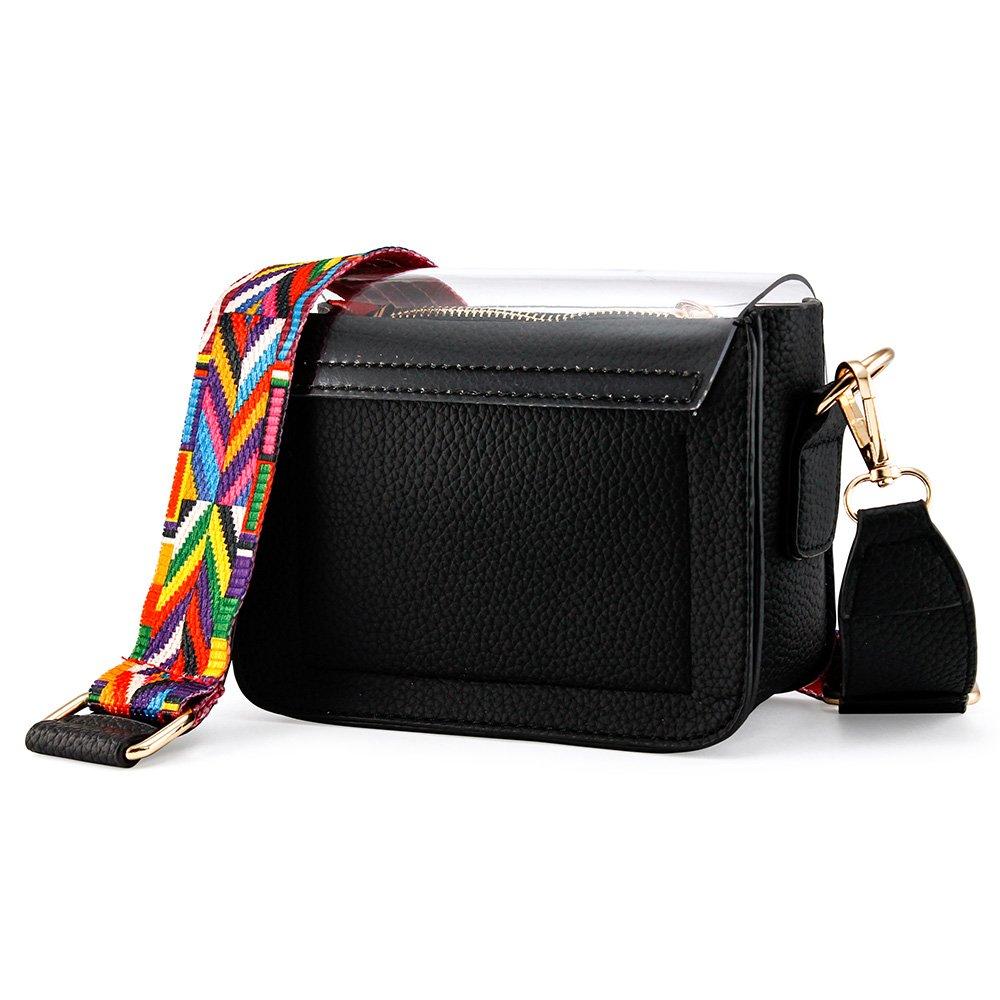 6fc661411fdd OCT17 Women Mini Transparent PVC Plastic Cross body Durable Summer Shoulder  Bag
