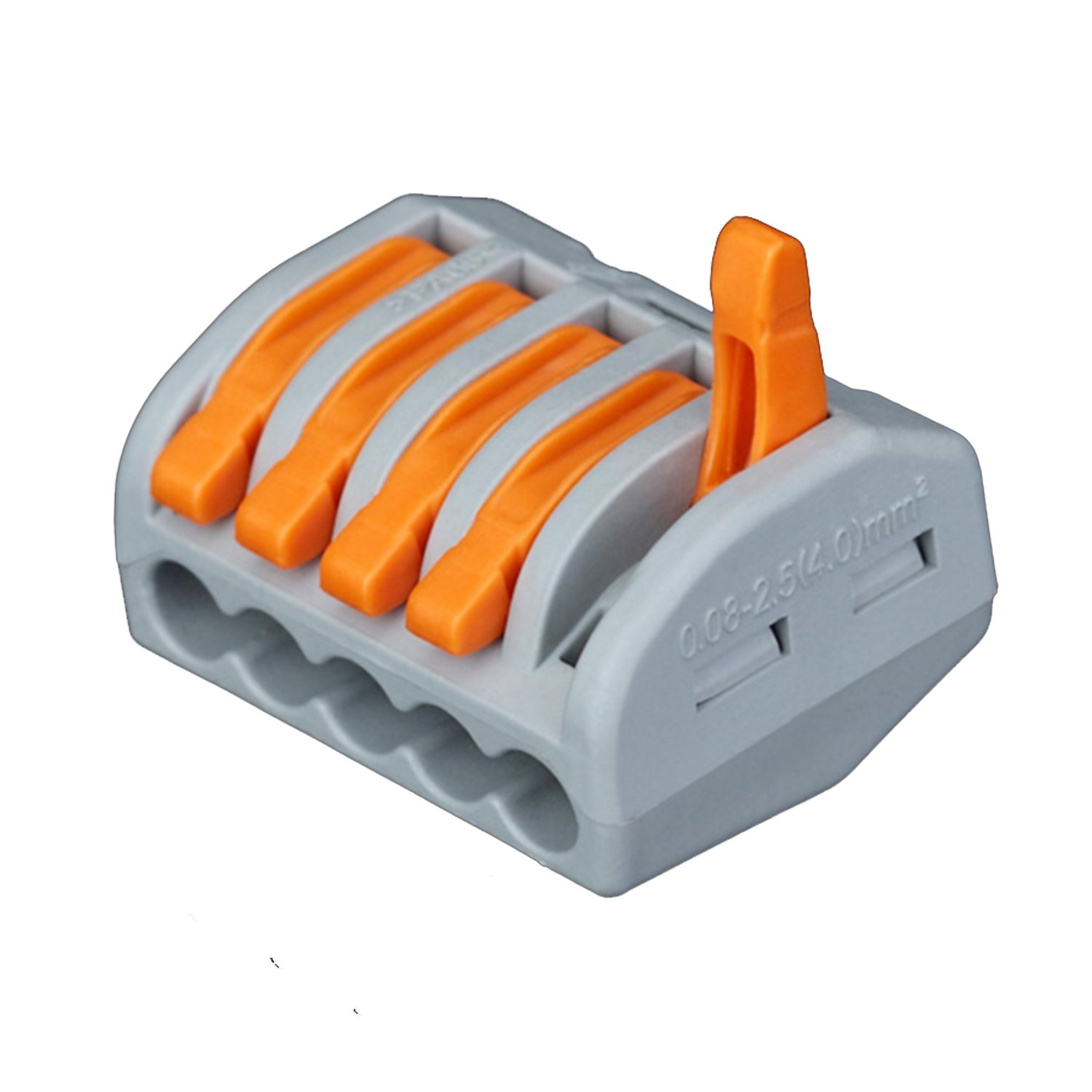 Push Wire Connector Lever Terminal Block Lever-Nuts Conductor ...