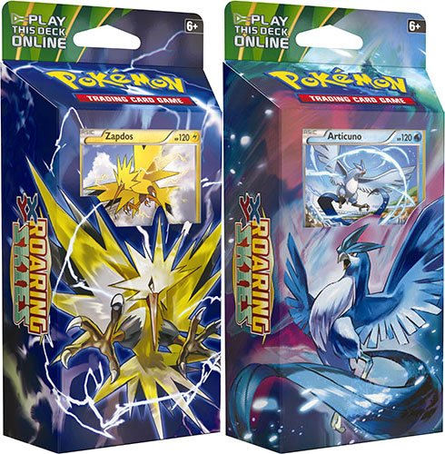 Pokémon Trading Card Game: XY — Roaring Skies Zapdos & Articuno Theme Deck Set of 2 (High Deck Sky)